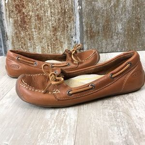 Keen Catalina Brown Leather Boat Shoe Sz. 7.5